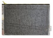 Ca-606 Bf Hastings Bank Building Western Terminus Of The Pony Express Carry-all Pouch