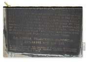 Ca-628-629 Alpha And Omega Carry-all Pouch