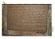 Ca-670 Mariposa County Courthouse Carry-all Pouch