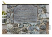 Ca-714 Mendocino Presbyterian Church Carry-all Pouch