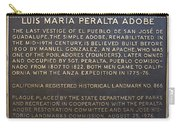 Ca-866 Luis Maria Peralta Adobe Carry-all Pouch