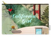 Ca Girl  Carry-all Pouch