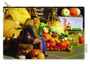 Cabbage Patch Kids - Giant Pumpkins - Marche Atwater Montreal Market Scene Art Carole Spandau Carry-all Pouch