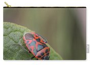 Cabbage Shield Bug Carry-all Pouch