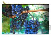 Cabernet Sauvignon Grapes Carry-all Pouch by Robert Bales