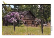 Cabin And Wildflowers Carry-all Pouch