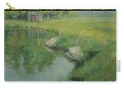 Cabin By The Pond Carry-all Pouch