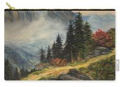 Cabin In The Alps Carry-all Pouch