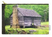 Cabin In The Smokies Carry-all Pouch by Marty Koch