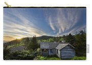 Cabins At Dawn Carry-all Pouch by Debra and Dave Vanderlaan