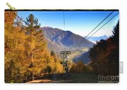 Cableway In Autumn Carry-all Pouch
