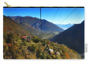 Cableway Over The Mountain Carry-all Pouch