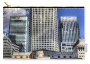 Cabot Square London Carry-all Pouch