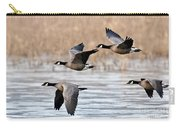 Cackling Geese Flying Carry-all Pouch