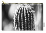 Cacti B And W  Carry-all Pouch