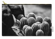 Cacti  B And W V2 Carry-all Pouch