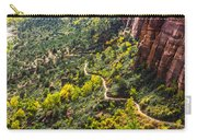 Cacti View Of Zion Carry-all Pouch