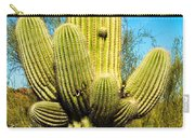 Cactus Face Carry-all Pouch