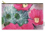 Cactus Flowers I Carry-all Pouch