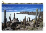 Cactus Forest And Salar De Uyuni Carry-all Pouch