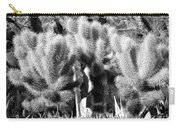 Cactus In Bw Carry-all Pouch