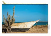 Cactus On A Beach Carry-all Pouch