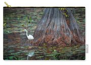 Caddo Lake Egret Carry-all Pouch