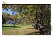 Cades Cove House And Fall Colors Carry-all Pouch