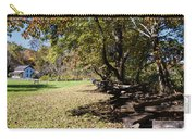 Cades Cove House And Split Rail Fence Carry-all Pouch