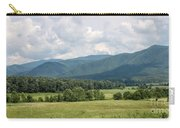 Cades Cove In Summer Carry-all Pouch by Todd Blanchard