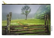 Cades Cove Misty Tree Carry-all Pouch