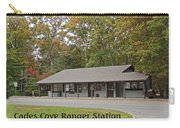 Cades Cove Ranger Station Carry-all Pouch