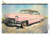Cadillac Fleetwood 1955 Pink Carry-all Pouch