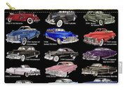 Never Enough Cadillacs  Carry-all Pouch
