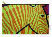 Cadmium Zebra Carry-all Pouch