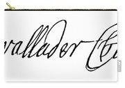 Cadwallader Colden (1688-1776) Carry-all Pouch