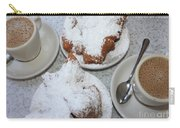 Cafe Au Lait And Beignets Carry-all Pouch by Carol Groenen