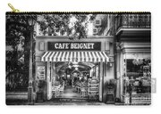 Cafe Beignet Morning Nola - Bw Carry-all Pouch