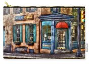 Cafe - Cafe America Carry-all Pouch by Mike Savad