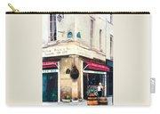 Cafe Le Barometre In Paris Carry-all Pouch