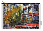 Cafe Le Champ De Mars Carry-all Pouch