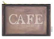 Cafe Shop Sign Carry-all Pouch