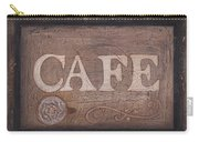 Cafe Sign Carry-all Pouch
