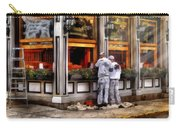 Cafe - The Painters Carry-all Pouch by Mike Savad