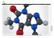 Caffeine Molecular Model Carry-all Pouch