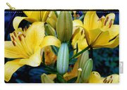 Caged Lilies Carry-all Pouch