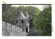 Cahir Castle Wall And Tower Carry-all Pouch