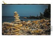 Cairn On Lake Michigan Carry-all Pouch