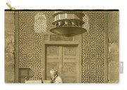 Cairo Funerary Or Sepuchral Mosque Carry-all Pouch by Emile Prisse d'Avennes