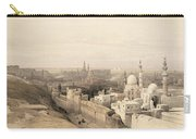 Cairo Looking West, From Egypt Carry-all Pouch